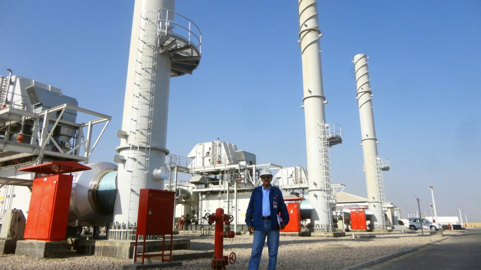 Halfaya Oil Field - Power Plant