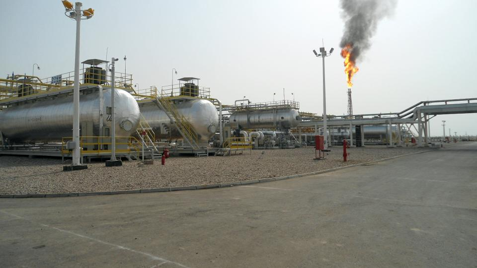 Halfaya Oil Field -  Piping and Flare
