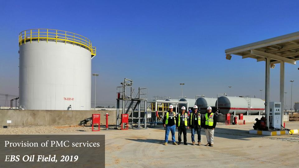 EBS Oil Field - PMC